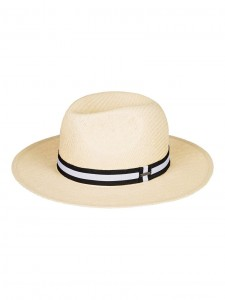 Kapelusz unisex HERE WE GO Straw Panama Hat