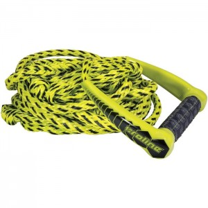 Lina z uchwytem do wakesurf ProLine 30' Team Surf Rope w/10'' NEO Handle ŻÓŁTA