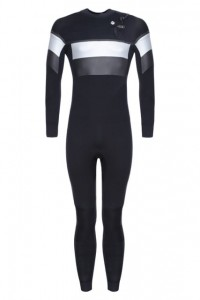 Pianka męska Saint Jacques Wetsuit MARIUS quick dry 5/4 mm BLACK