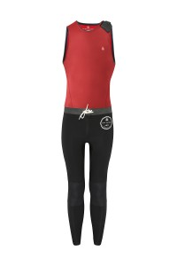 Męska pianka neoprenowa Saint Jacques Wetsuit LEON BURGUNDY 3 mm