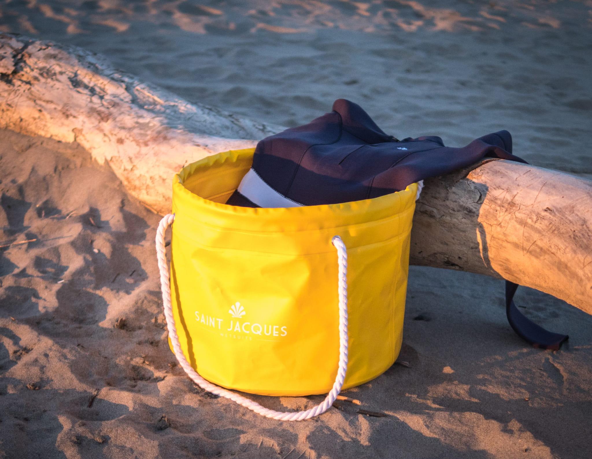 Torba plażowa CHANGE MATE Saint Jacques Wetsuit BLACK